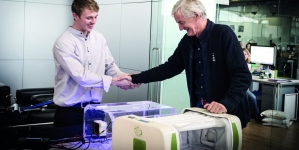 James Roberts remporte le James Dyson Award 2014