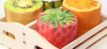 Le papier toilette fruits