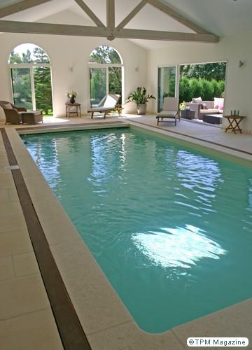 Tendance la piscine d 39 int rieur le blog des tendances for Piscine d interieur