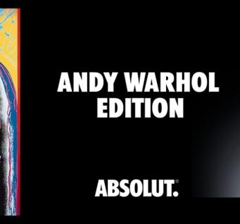 Découvrez bouteille Absolut Vodka by Andy Warhol