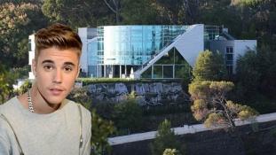 Visite de la maison de Justin Bieber