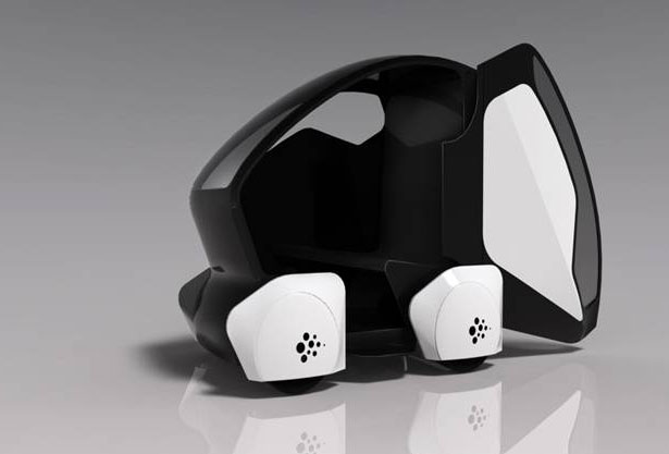 véhicule autonome pod