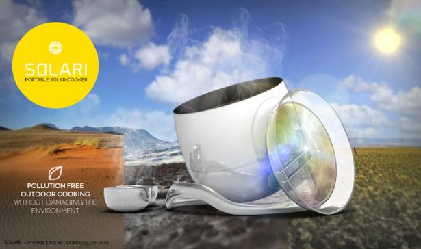 four solaire portable Solari
