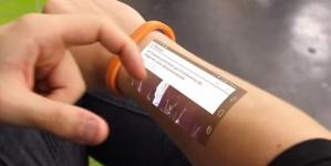 Le bracelet futuriste Cicret sous Android