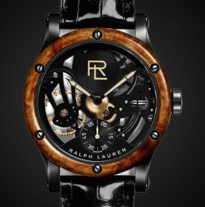 La montre Skeleton Automotive by Ralph Lauren