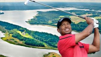 Tiger Woods vend son île en Suède