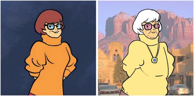A quoi ressembleraient les personnages de scooby doo aujourd 39 hui le blog des tendances - Personnage scooby doo ...