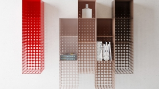 In The Fog – Les meubles en métal by Dmitri Kozinenko