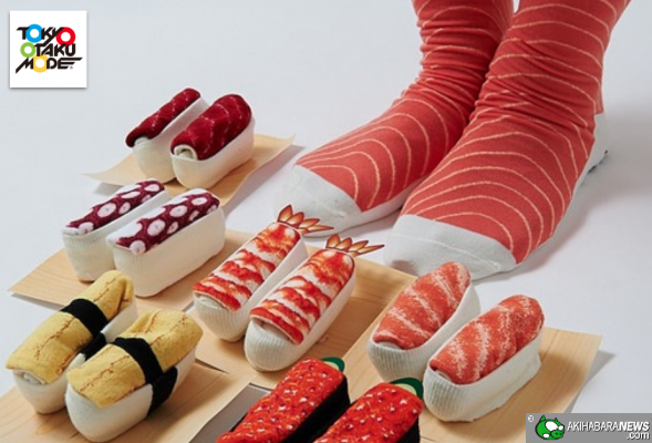 Chaussette Sushi