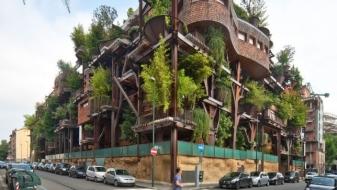 Megablock Microclimat – Un immeuble au milieu des arbres