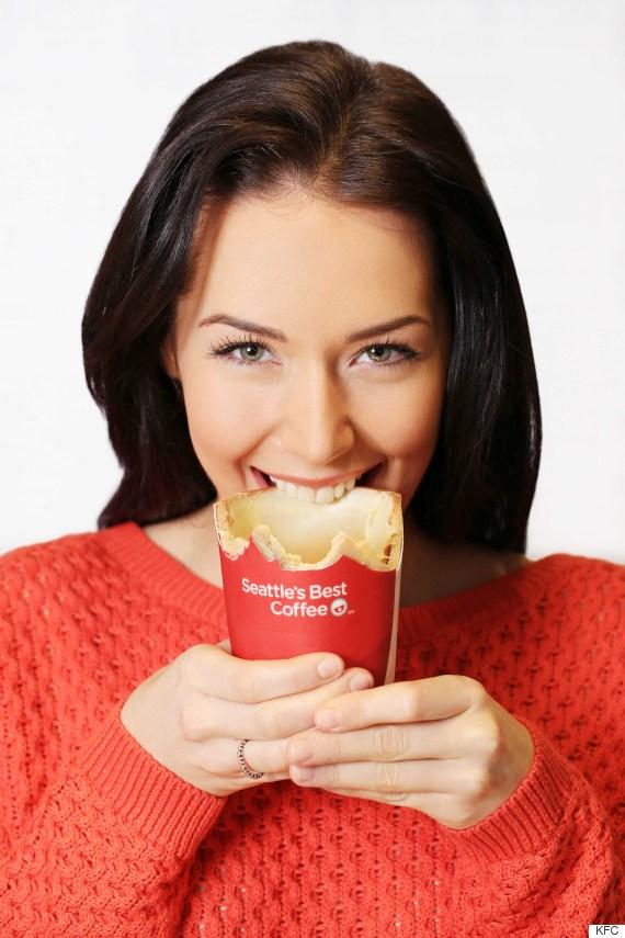 Scoff-ee Cup KFC