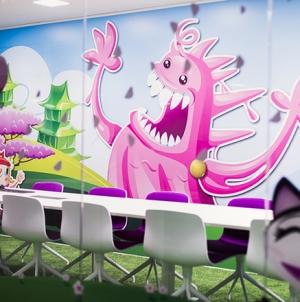 Visite des bureaux de Candy Crush