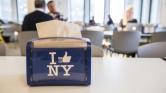 Visite de la cafétéria de Facebook à New York