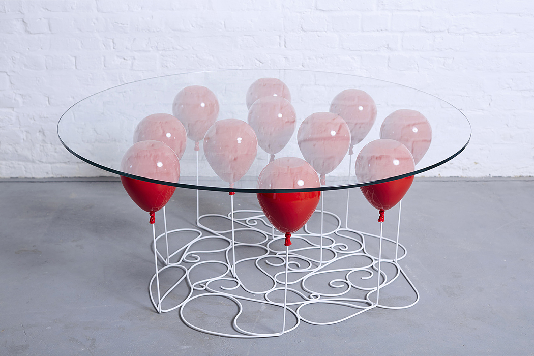 table basse UP Balloon Christopher Duffy