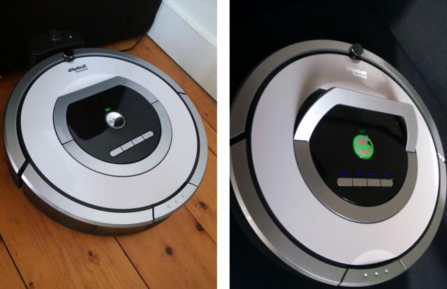 aspirateur iRobot Roomba 776p
