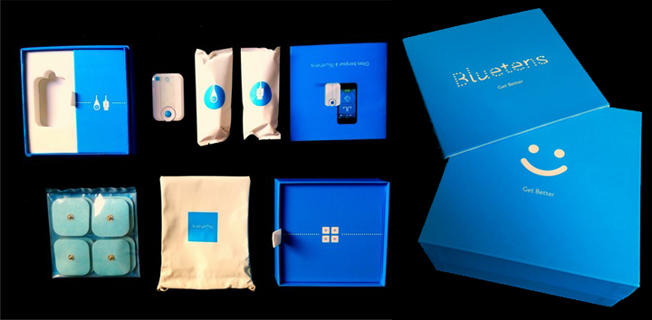 Bluetens test appareil électro-stimulation connecté