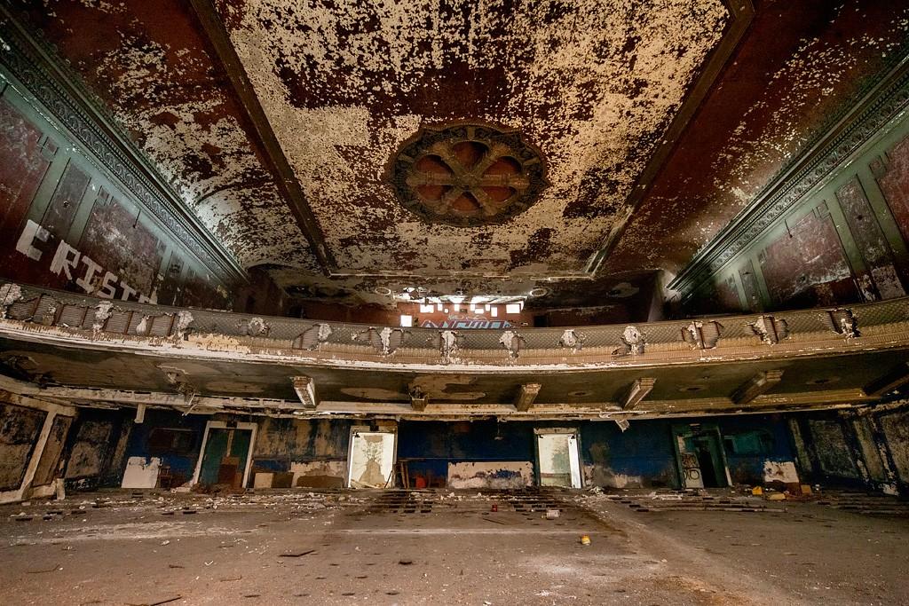 Théâtre abandonné Majestic Theater History