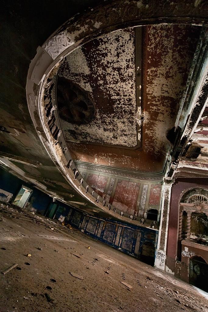 Theatre abandonne Majestic Theater History