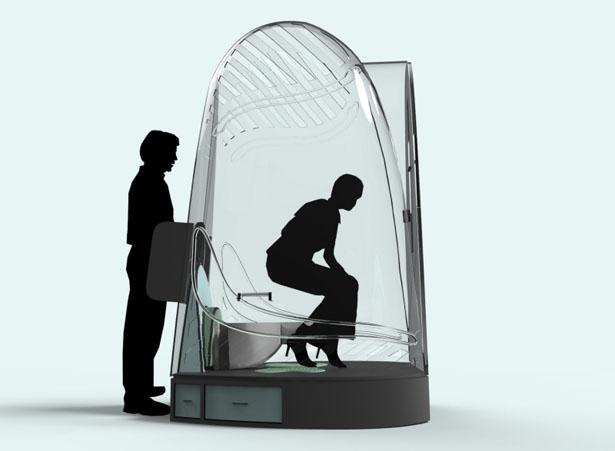 Biopod toilettes publiques Cassie Stepanek