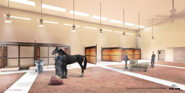 The Ark nouveau terminal animaux aéroport JFK