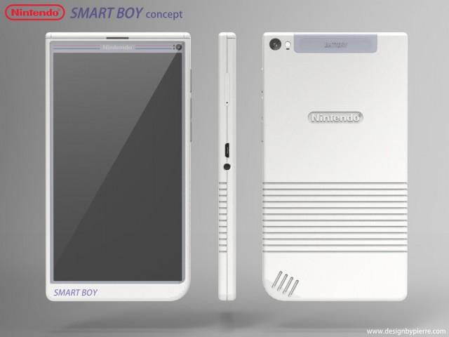 smart boy smartphone nintendo android 1