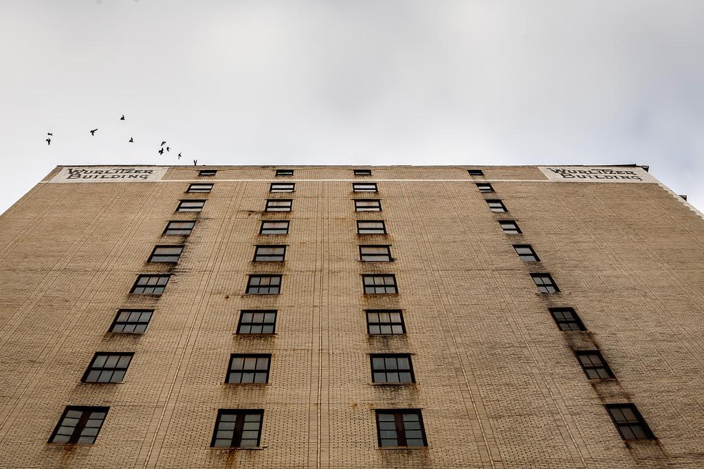 Exploration urbaine Wurlitzer Building Detroit