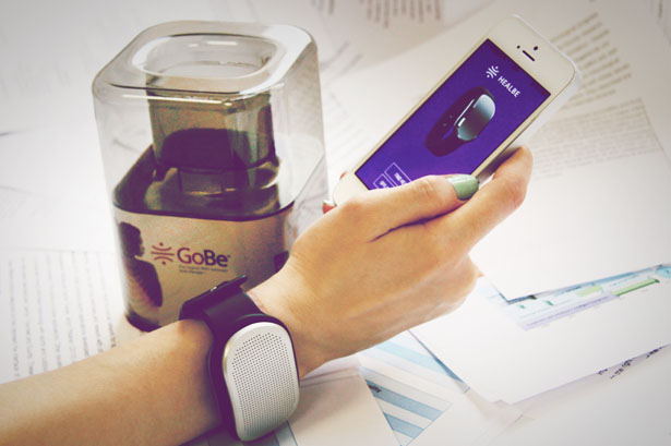 wearable GoBe HealBe