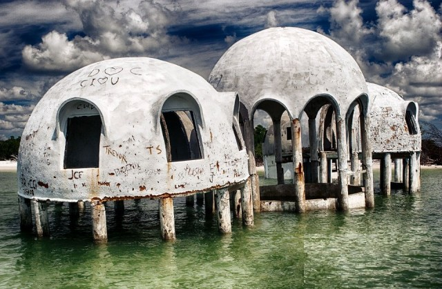 City Guide Floride domes abandonnes de Cape Romano