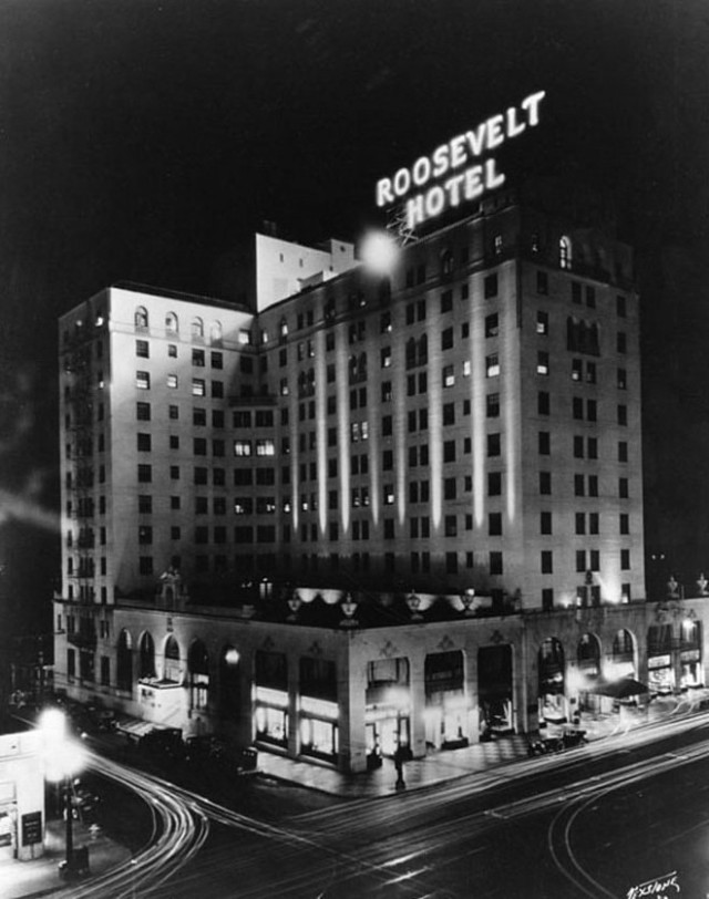 City Guide Los Angeles Hollywood Roosevelt Hotel