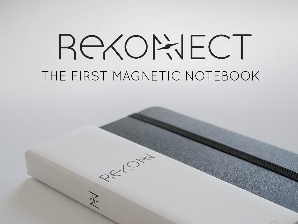 Notebook Rekonect bloc-note magnétique