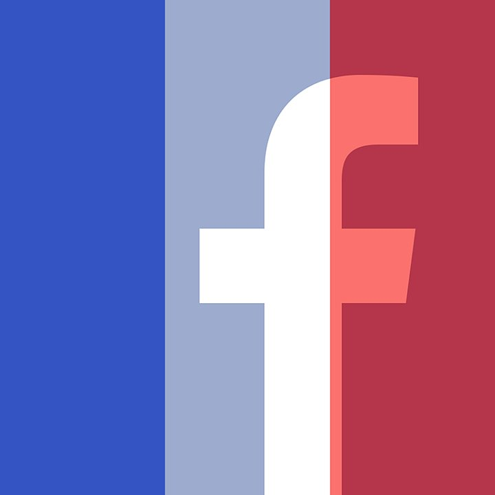 filtre France sur Facebook