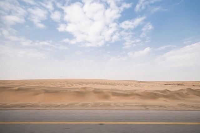 lieux de tournage du nouveau Star Wars rub al khali desert