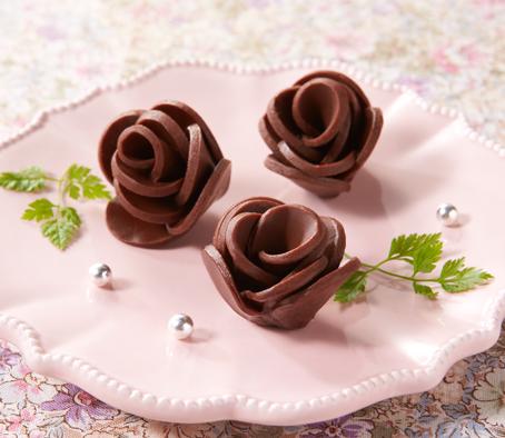 tranches de chocolat Bourbon Nama