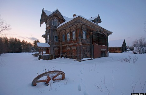 bâtiments abandonnés urbex Russie rurale Kostroma Andrew Qzmn