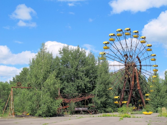 parcs d'attractions abandonnés