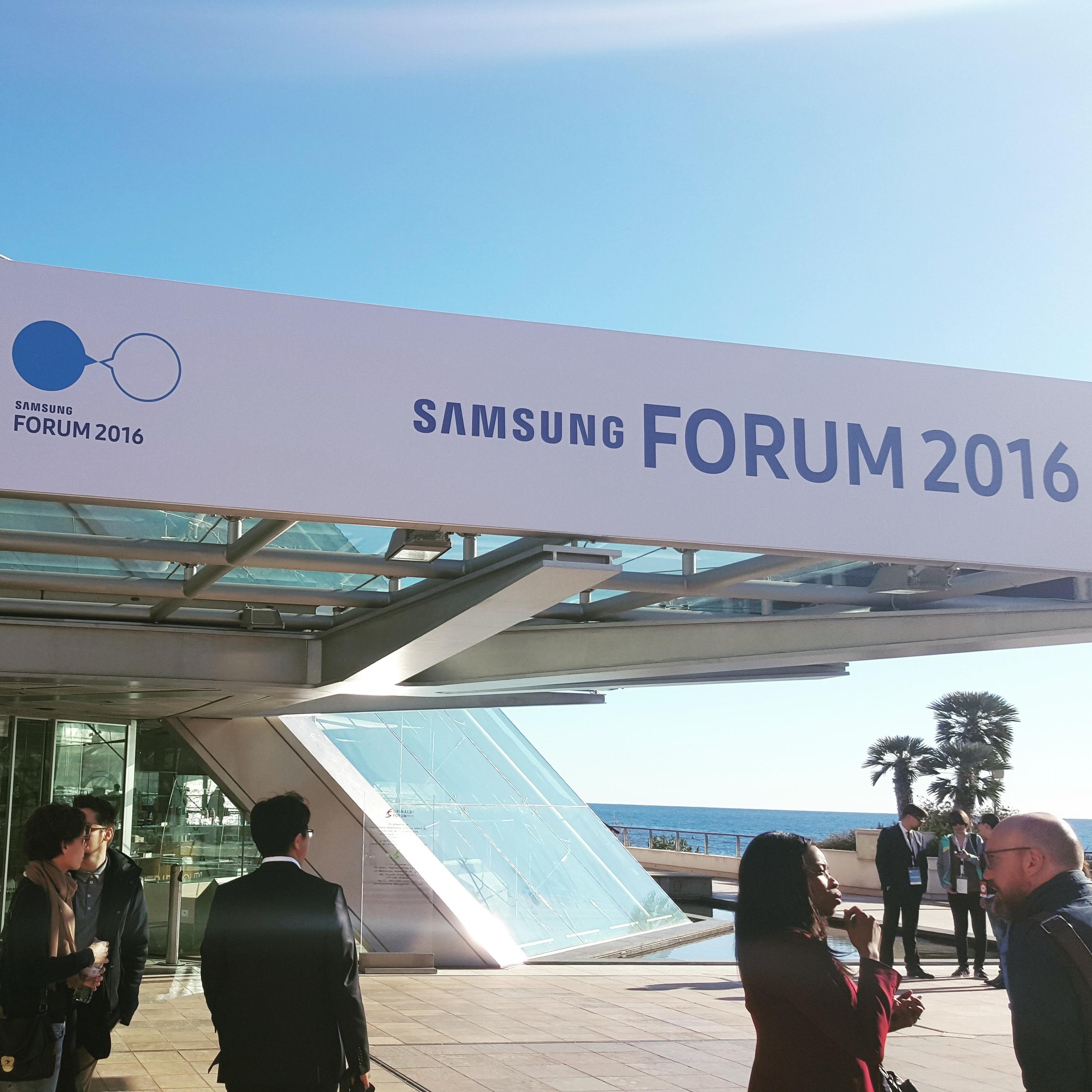 Samsung Forum 2016