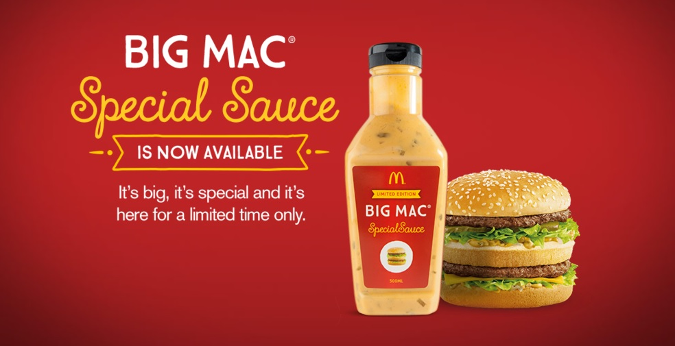sauce big mac mcdonalds