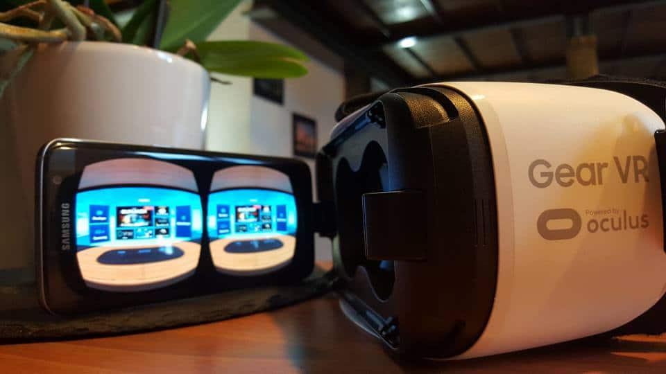casque de réalité virtuelle Galaxy VR de Samung