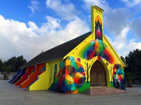 église abandonée urbex Okuda