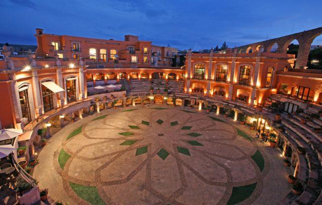 hôtels insolites Quinta Real Zacatecas