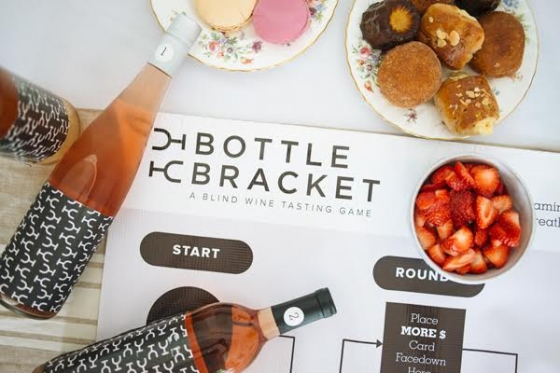 bouteille Bracket vin