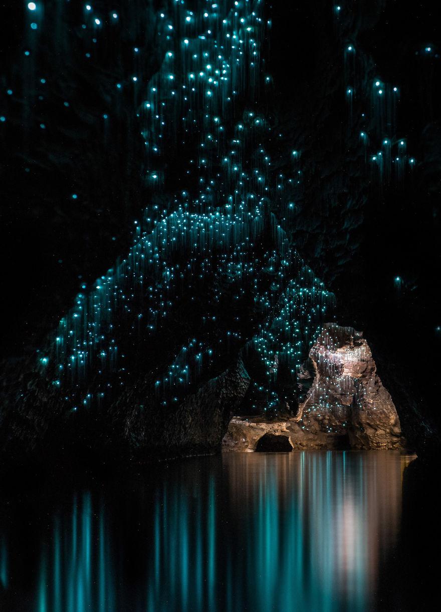 grottes de Waitomo Shaun Jeffers