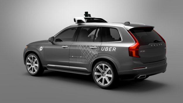 voiture autonome Uber
