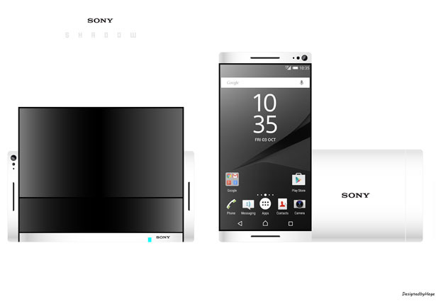 Shadow concept phone Sony Mladen Milic
