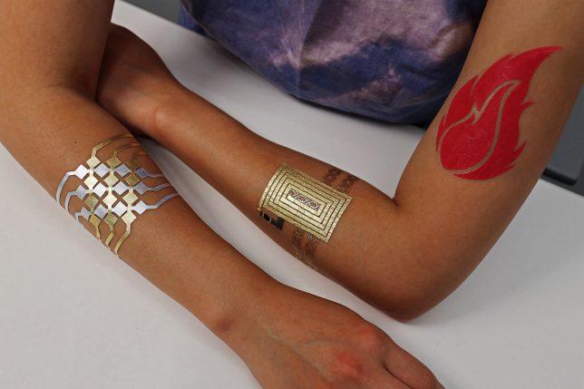 DuoSkin MIT tatouages connectés