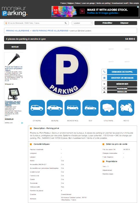 avis Monsieur Parking