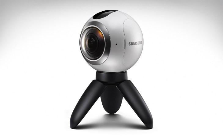 caméra GEAR 360 de Samsung