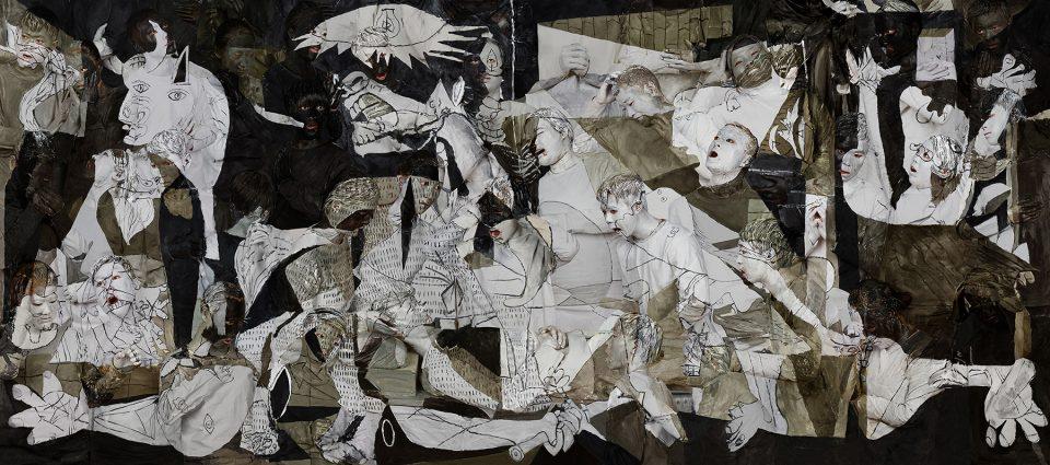 Liu Bolin peintures corps humains