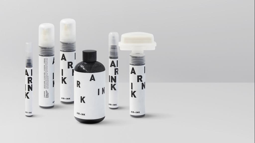 AIR-INK - La première encre fabriquée à partir de la pollution atmosphérique