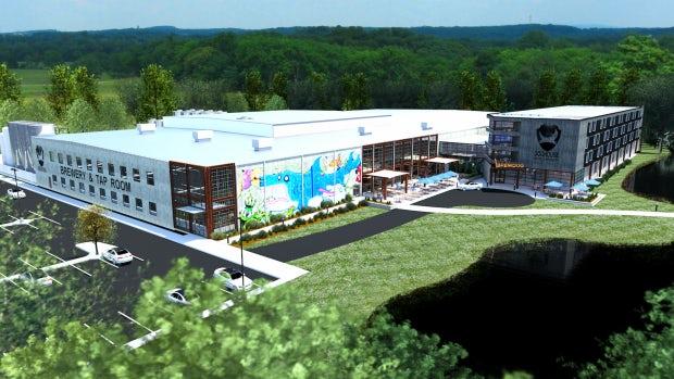 DogHouse - BrewDog créé un hôtel dans sa nouvelle brasserie